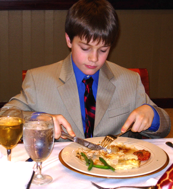 Eat, Drink, Be Nice: Teaching Children Manners - The New ...  |Eating Etiquette